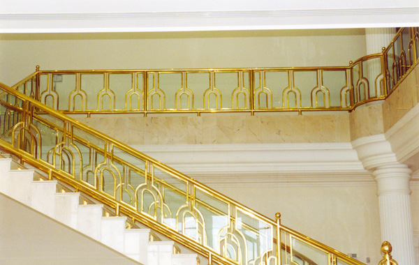 BRASS RAILING WORK